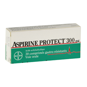 Aspirine protect 300 mg, comprimé gastro-résistant