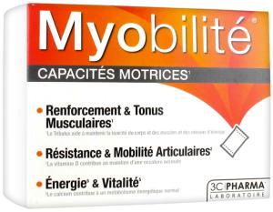 3c pharma myobilité 15 sachets de 7 g