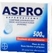 Aspro 500 effervescent, comprimé effervescent